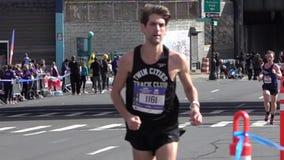 El maratón 2016 del TCS New York City 124 almacen de video