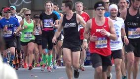 El maratón 2016 del TCS New York City 125 almacen de video