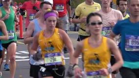 El maratón 2016 del TCS New York City 128 metrajes