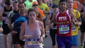 El maratón 2016 del TCS New York City 129 almacen de video