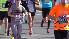 El maratón 2016 del TCS New York City 132 almacen de video