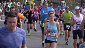El maratón 2016 del TCS New York City 133 almacen de video