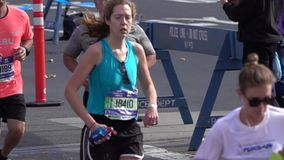 El maratón 2016 del TCS New York City 135 metrajes