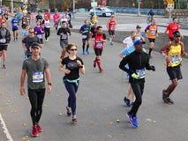 El maratón 2016 del TCS New York City 551 Imagen de archivo libre de regalías