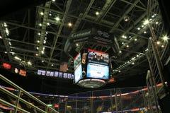 El marcador en Quicken presta la arena Fotos de archivo