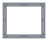 El marco antiguo en el blanco Imagen de archivo