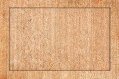 El marco de madera hizo la madera contrachapada del ââof. Foto de archivo