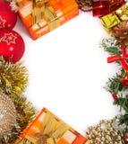 El marco del Año Nuevo Foto de archivo libre de regalías