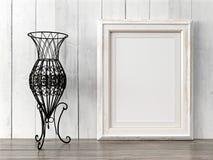 El marco moderno vacío del estilo, 3D rinde Foto de archivo libre de regalías