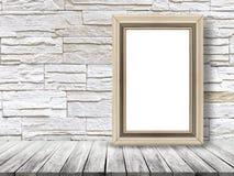 El marco moderno vacío del estilo, 3D rinde Fotografía de archivo libre de regalías