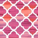 El marocco del modelo del vector del damasco texturizó elegante rosado stock de ilustración