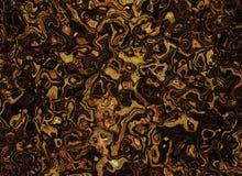 El marrón abstracto encrespado alinea fondos ilustración del vector