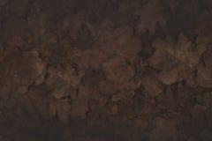 El marrón seco deja el fondo del otoño Foto de archivo