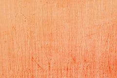 El marrón superficial del primer pintado en la cerca del metal de la casa texturizó el fondo Foto de archivo libre de regalías