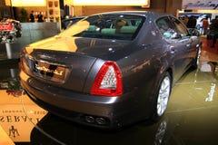 El Maserati Quattroporte Imagenes de archivo