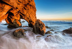 El Matador Beach Stock Photography