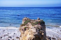 El Matador Beach California Royalty Free Stock Photo