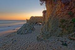 El-matador State Beach i Malibu fotografering för bildbyråer