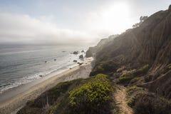 El-matador State Beach Malibu Royaltyfria Bilder