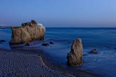 El Matador state beach. Rock formations on El Matador state beach, Malibu, California, USA Stock Photos