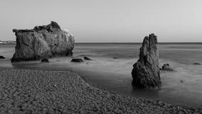 El Matador State Beach. Rock formations on el matador state beach, Malibu, California, USA Stock Image