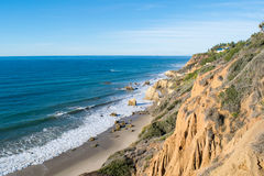 El Matador state park in Malibu Beach. Near Los Angeles Stock Image
