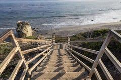 El matadora plaża Malibu Fotografia Stock