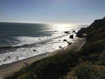 El matadora stanu plaża fotografia stock