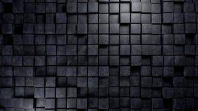 El material de mármol azul cubica el fondo Ilustración del Vector