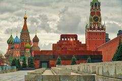 El mauselium del ` s de Lenin en Plaza Roja Imagen de archivo libre de regalías