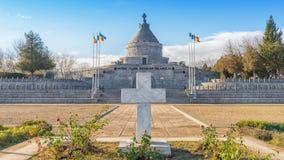 El mausoleo de Marasesti, un sitio conmemorativo en Rumania Imagen de archivo libre de regalías