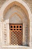 El mausoleo de Samanid est? situado en el n?cleo urbano hist?rico de la ciudad de Bukhara foto de archivo