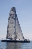 El Maxi-catamarán Gitana 13 Fotografía de archivo