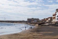 El Medano, Тенерифе-Испания Стоковая Фотография RF
