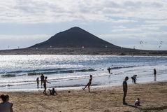 El Medano, Tenerife-Spain Royalty Free Stock Images