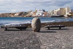 El Medano, Tenerife-Spanien Fotografering för Bildbyråer