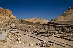 EL-medina de Deir Fotografia de Stock