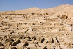 EL Medina, Luxor de Deir Imagen de archivo