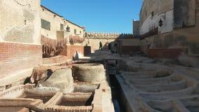 El Medina viejo de Tetouan Imagenes de archivo