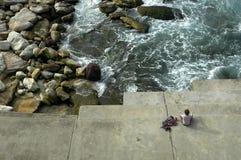 El Meditating Foto de archivo libre de regalías