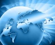 El mejor concepto del Internet de asunto global de concentrado ilustración del vector