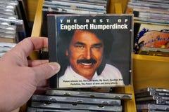 El mejor de Engelbert Humperdinck fotografía de archivo libre de regalías