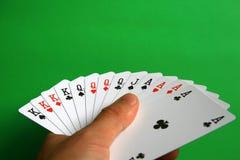 El mejor de tarjetas en puente Foto de archivo libre de regalías