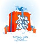 El mejor diseño barato de los regalos Imagenes de archivo