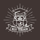 el mejor diseño del profesor libre illustration