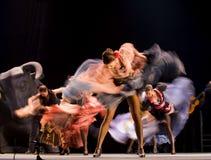 El mejor drama de la danza del flamenco Imagen de archivo libre de regalías