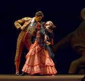 El mejor drama de la danza del flamenco   Fotografía de archivo