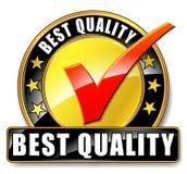 El mejor icono de la calidad ilustración del vector