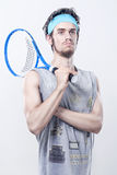 El mejor jugador de tenis Imagenes de archivo