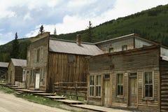 El mejor pueblo fantasma de Colorado Imagen de archivo libre de regalías